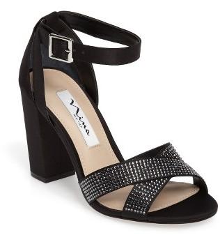 Women's Nina Shelley Crisscross Ankle Strap Sandal $118.95 thestylecure.com