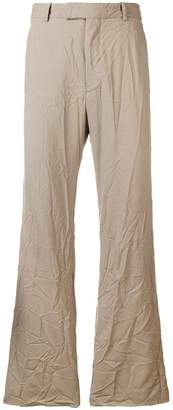 Marni crinkled trousers