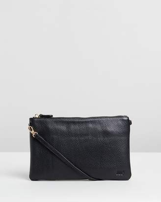 Leather Phone Charging Cross-Body Classic Bag