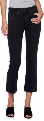 Paige Raw-Cuff Cropped Jeans