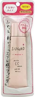 @cosme store online (アットコスメ ストア オンライン) - SUGAO AirFit CCクリーム モイスト ピュアオークル 25g