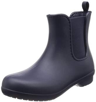 Crocs Women's Freesail Chelsea Rain Boot Navy