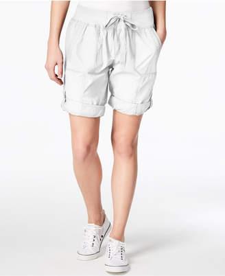 Calvin Klein Poplin Cargo Shorts