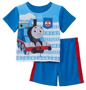 Character Sleepwear Boys' 2pc Thomas The Train Set.