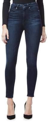 Good American Good Waist Crop High Waisted Jeans - Blue025