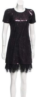 Vivienne Tam Sequin Lace Dress