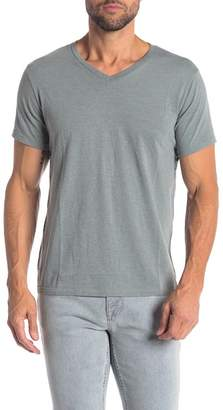 Save Khaki Short Sleeve V-Neck Tee