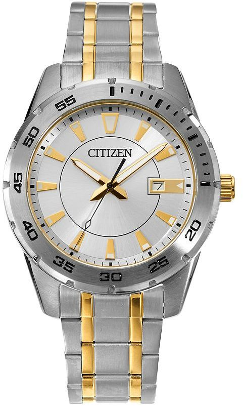 Citizen Citizen Men's Two Tone Stainless Steel Watch - BI1044-59A