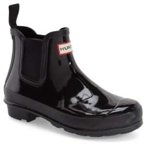 Hunter Gloss Waterproof Chelsea Boot