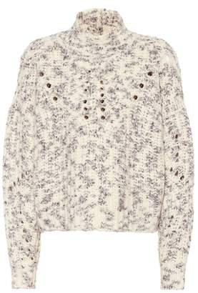 Isabel Marant Jilly high neck wool sweater