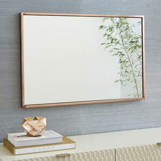west elm Metal Framed Wall Mirror