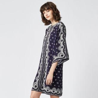 Warehouse Bandana Print Tunic Dress
