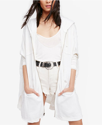 Free People Peace It Up Hooded Cardigan $128 thestylecure.com