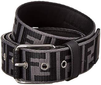 Fendi Logo Embossed Belt