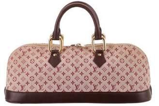 Louis Vuitton Mini Lin Alma Long Bag Pink Mini Lin Alma Long Bag