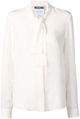 Moschino bow collar shirt