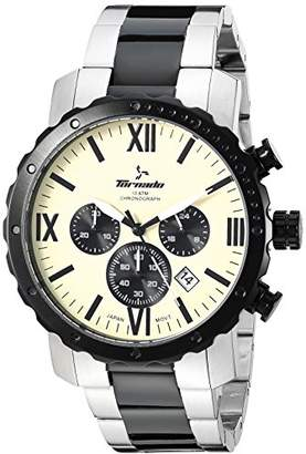 Tornado watch Men's Quartz Stainless Steel Dress