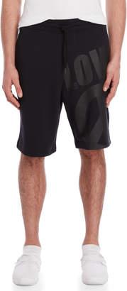 Love Moschino Oversized Logo Drawstring Shorts