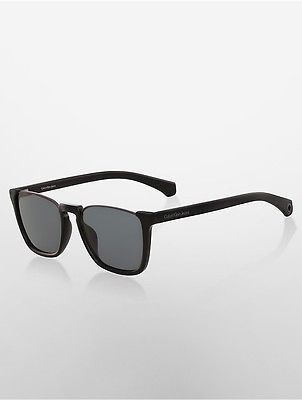 Calvin Klein Calvin Klein Womens Rectangle Open Top Sunglasses Black