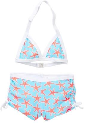 Snapper Rock Starfish Watershort Bikini (Toddler, Little Girls, & Big Girls)
