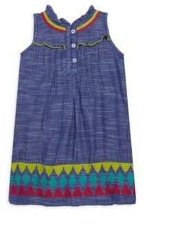 Hatley Toddler's, Little Girl's & Girl's Rainfall Chambray Dress