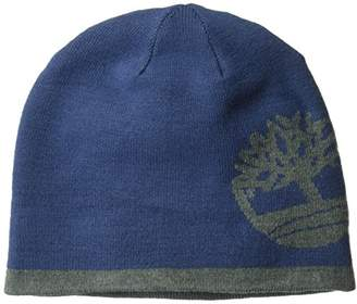 Timberland Men's Reversible Knit In Tree Beanie
