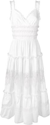 Dolce & Gabbana long ruffled dress