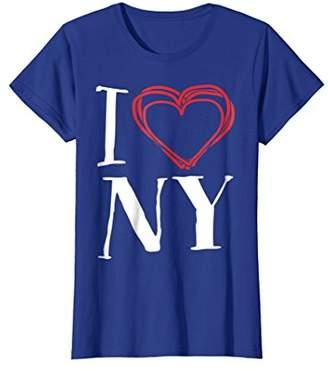 Womens I Love NY   I Love New York T-Shirt XL