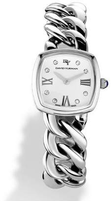 David Yurman Albion 23mm Quartz with Diamonds $1,850 thestylecure.com
