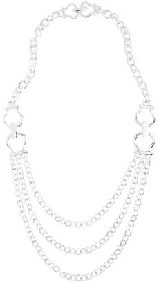 Brooks Brothers Equestrian Three-Chain Necklace