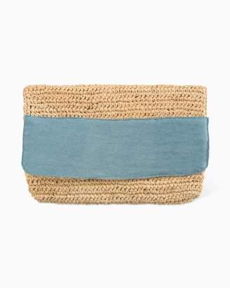 Southern Tide Chunky Crochet Clutch