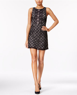 kensie Lace A-Line Dress $89 thestylecure.com