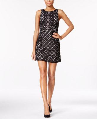 kensie Lace A-Line Dress $89 thestylecure.com