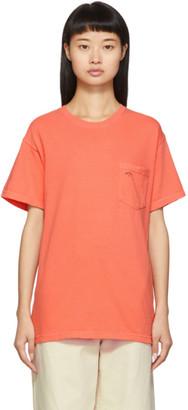 Noah NYC Orange Pocket T-Shirt