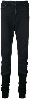 Diesel Black Gold ruched leg jeans