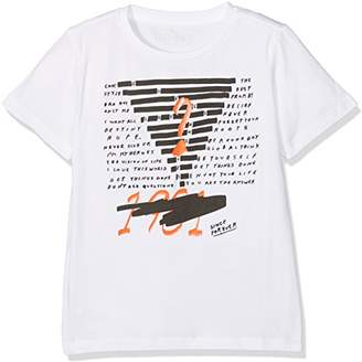 GUESS Boy's Ss T T-Shirt, (True White A000 TWHT)