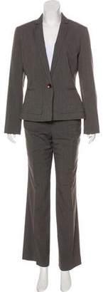 Calvin Klein High-Rise Wide-Leg Pantsuit