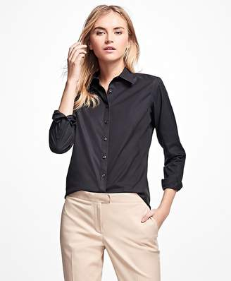 Non-Iron Fitted Dress Shirt $98 thestylecure.com