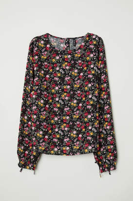 H&M Patterned Blouse - Pink