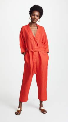 Giada Forte Linen Jumpsuit