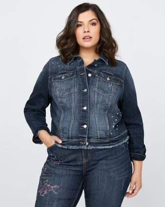 Penningtons Distressed Denim Jacket - d/C JEANS