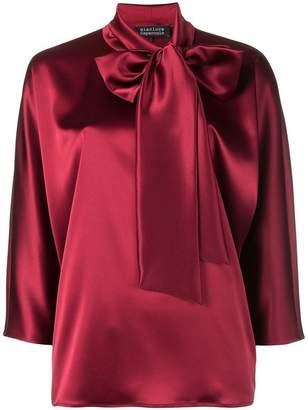 Gianluca Capannolo bow tie blouse