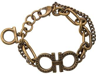 Salvatore Ferragamo Double Gancini chain bracelet