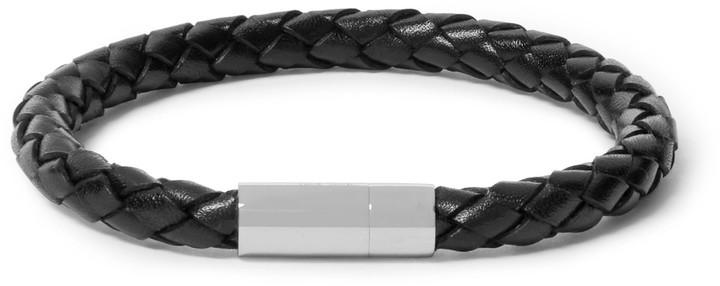 Paul SmithPaul Smith Braided Leather Bracelet