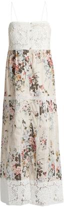 ZIMMERMANN Aerial Sun cotton dress $626 thestylecure.com