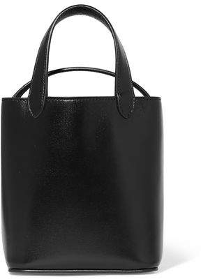 Givenchy Glossed-Leather Bucket Bag