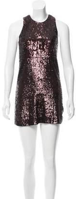 Tory Burch Sequin Embellished Mini Dress