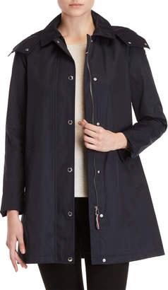 Tommy Hilfiger Solid Hooded Raincoat