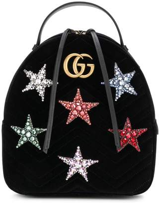 Gucci GG Marmont star backpack