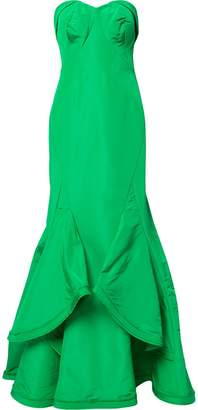 Zac Posen sweetheart neck mermaid gown